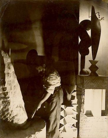 Constantin Brancusi, Self-Portrait in Studio, 1923 MET