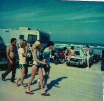 Daytona Beach, 1970. Fotografia di Tom Reavis