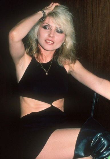 Debbie Harry dei Blondie, 1978. Fotografia di Barry Schultz