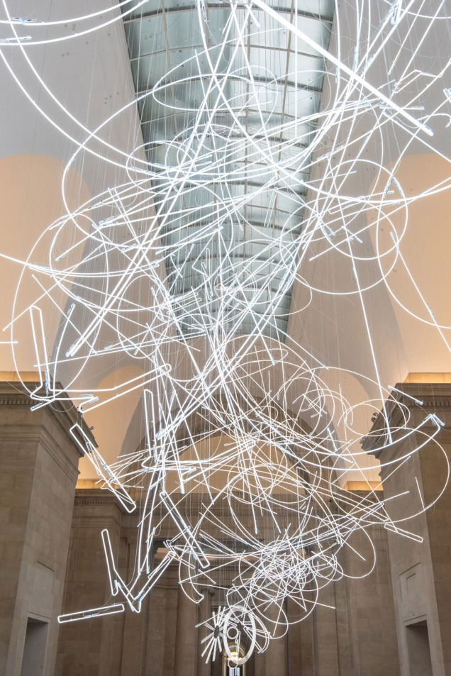 """""""Forms in Space… by Light (in Time)"""" by Cerith Wyn Evans"""