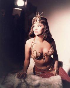 "Gina Lollobrigida sul set di ""Regina di Saba"", 1959"