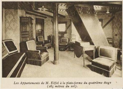 Gustave Eiffel aveva un appartamento segreto al quarto piano della sua famosa torre