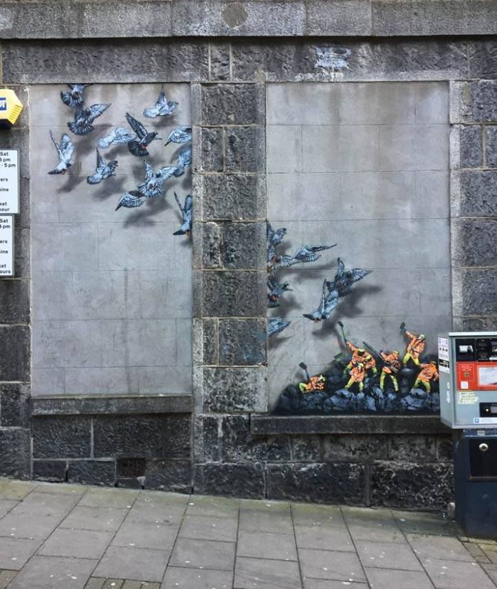 Jaune @Aberdeen, Scotland