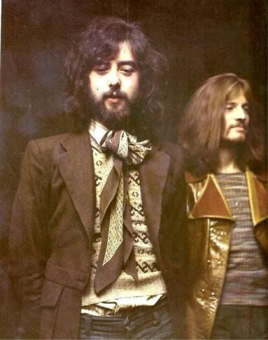 Jimmy Page e John Paul Jones, 1970