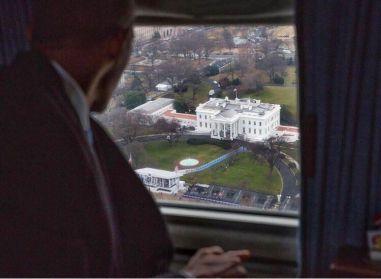 La giornata conclusiva di Obama come presidente mentre saluta la Casa Bianca