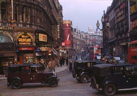 Londra subito dopo la seconda guerra mondiale