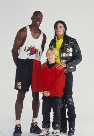 Michael Jordan, Michael Jackson e Macaulay Culkin, 1991