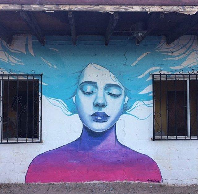 Monica Loya @Bahía de los Ángeles, Mexico
