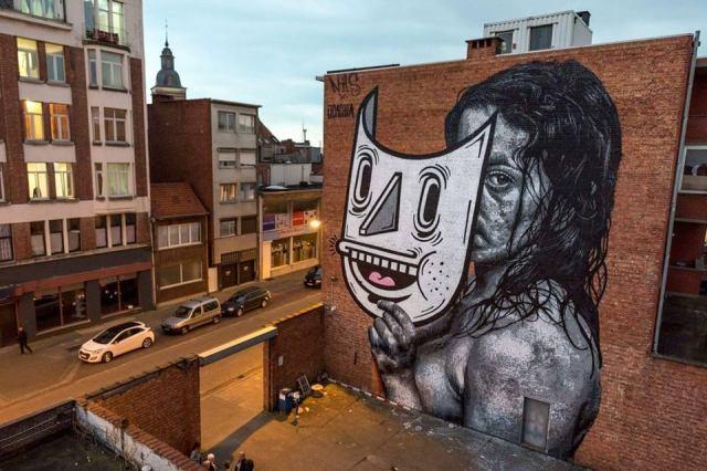 Nils Westergard & Joachim @Merksem, Antwerp, Belgium
