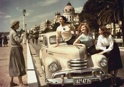 Nizza, Francia anni 50