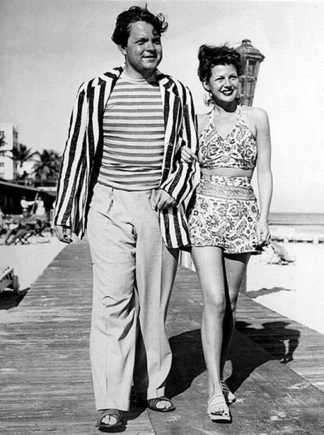 Orson Welles e Rita Hayworth