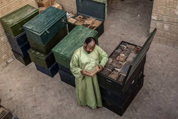 Questo uomo ha salvato manoscritti arabi antichi dai terroristi