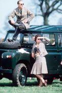 La Regina Elisabetta e il Principe Filippo alle corse di cavalli, 1968