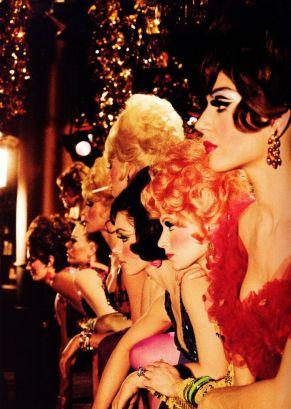 Showgirl di Las Vegas fotografate da Sammy Davis Jr
