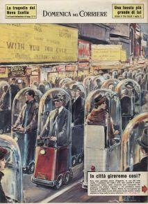 Trasporto futuristico - 1962