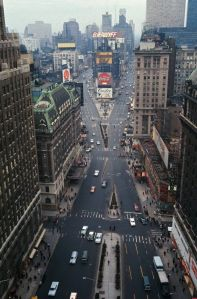 Veduta aerea di Times Square, 1967