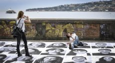 """""""Inside Out"""" by JR in Naples, Italy"""
