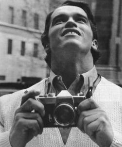 Arnold Schwarzenegger a New York per la prima volta nel 1968