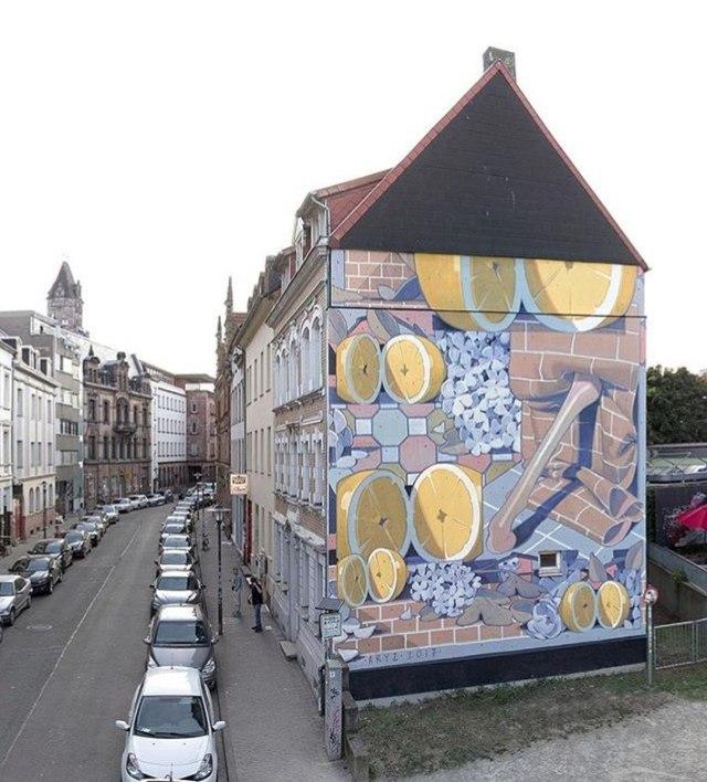 Aryz @Saarbrücken, Germany
