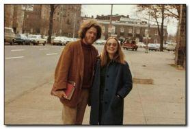 Bill e Hillary Clinton studenti, 1972
