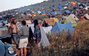 Campeggiatori a Woodstock, 1969