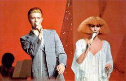 David Bowie e Cher, 25 novembre 1975