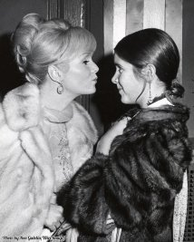Debbie Reynolds e Carrie Fisher a New York City, 1972