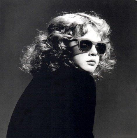 Drew Barrymore, 1985. Fotografia di Greg Gorman