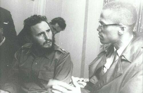 Fidel Castro e Malcolm X, 1960