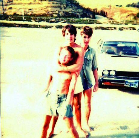 Flea, Kiedis e Slovak nei tardi anni 70