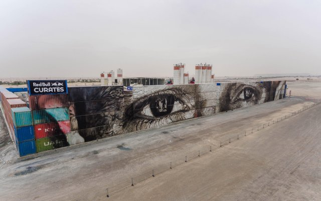 Guido van Helten @Dubai, United Arab Emirates