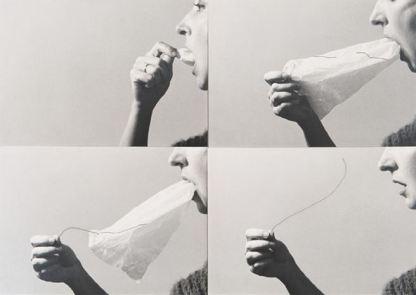 Helena Almeida - Le secret, 1976
