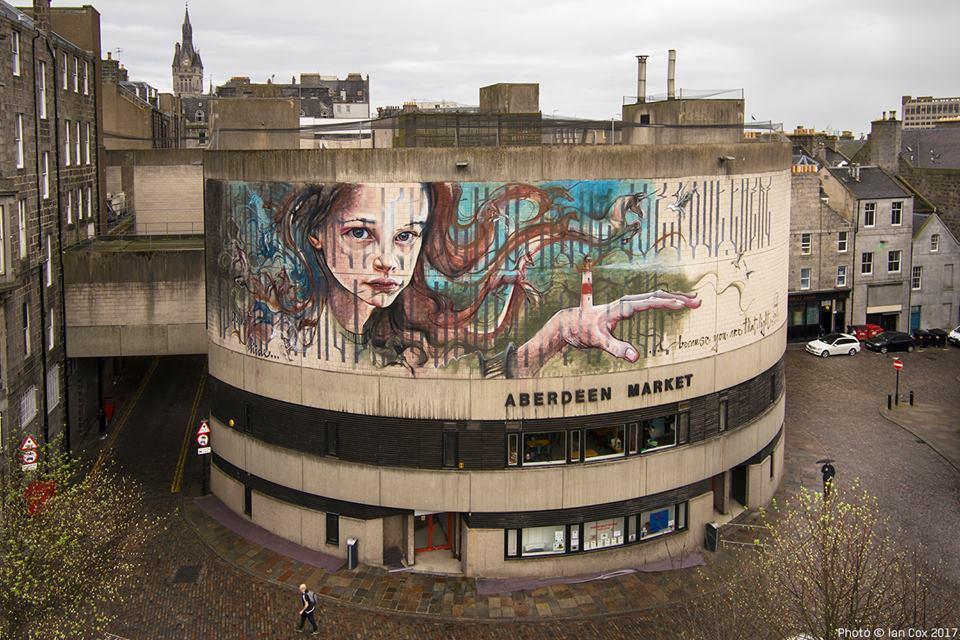 Herakut @Aberdeen, Scotland