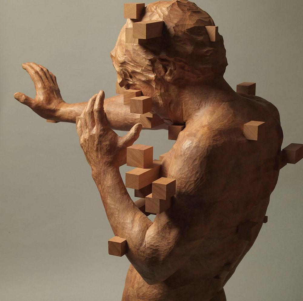 Molto Arte e curiosità – Le sculture pixelate di Hsu Tung Han | Barbara  NN16