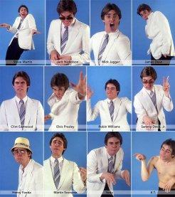 Jim Carrey che imita celebrità, 1992