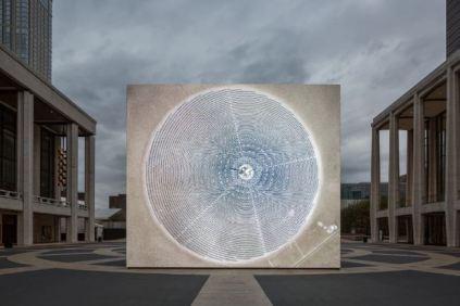 John Gerrard - Solar Reserve (Tonopah, Nevada), 2014 Simulation