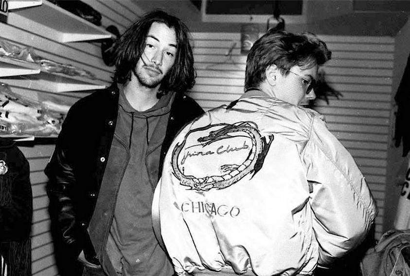 Keanu Reeves e River Phoenix a LA, 1991