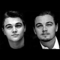 Leonardo DiCaprio all'età di 19 anni e di 39 anni.