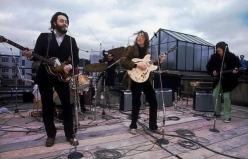 L'ultimo concerto dei Beatles su un tetto di Londra - 1969