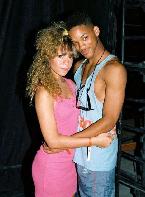 Mariah Carey (18 anni) e Will Smith (19 anni) al KIIS FM Endless Summer Jam del 1988
