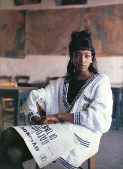 Naomi Campbell, anni 90