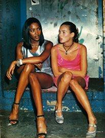 Naomi Campbell e Kate Moss, 1994