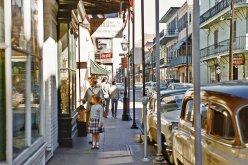 New Orleans, Quartiere francese, 1956