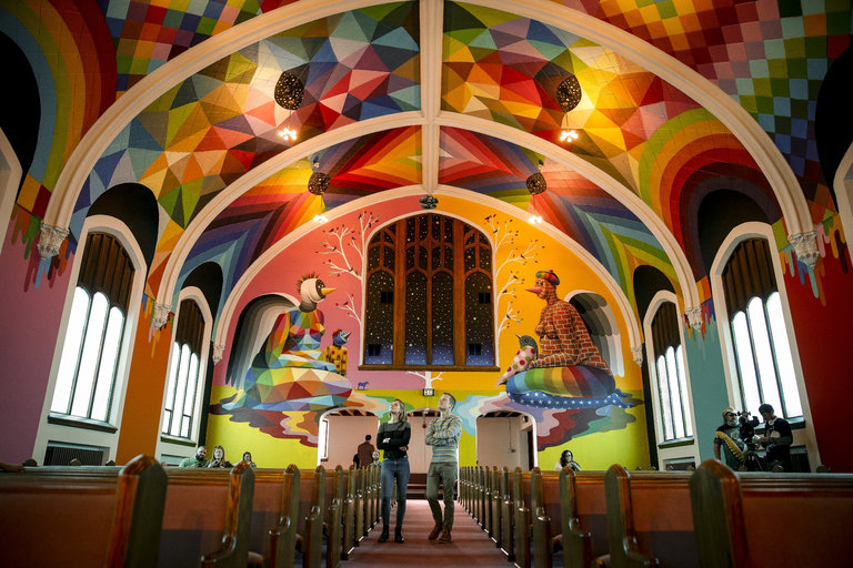 Okuda San Miguel @Cannabis Church, Denver, USA