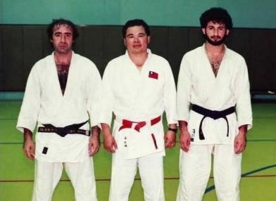 Osama Bin Laden dopo una sessione di Judo