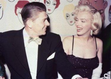 Ronald Reagan e Marilyn Monroe a Los Angeles, 1959