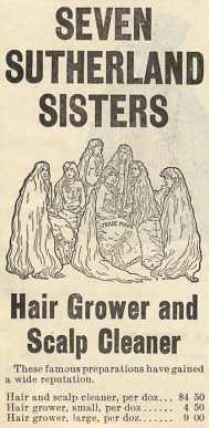 The Seven Sutherland Sisters' Hair Grower and Scalp Cleaner