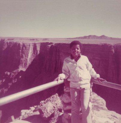 Un giovane Obama negli anni '70, Grand Canyon