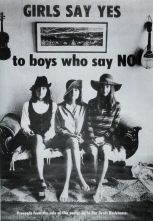 """""""Le ragazze dicono sì ai ragazzi che dicono no"""" - un poster degli anni 60"""