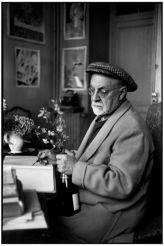 Alpi Marittime. Vence. Febbraio 1944. Il pittore francese Henri MATISSE nella sua casa, villa 'The Dream'